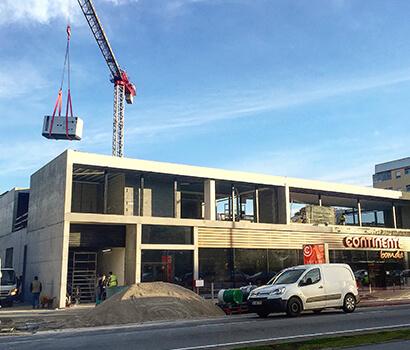 Hannaik instala gerador de 175 KVa no Continente Bom Dia no Porto