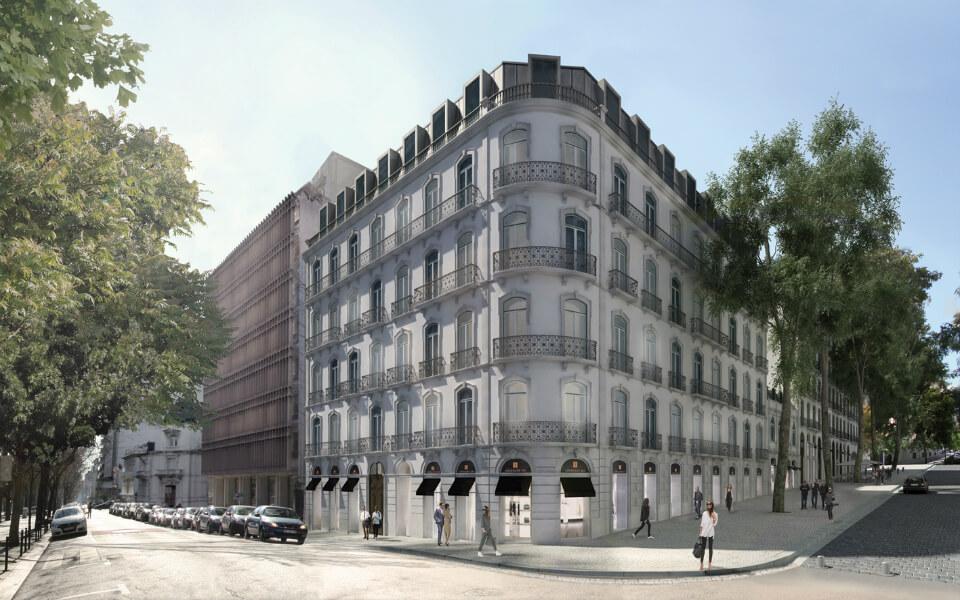 Hannaik instala um gerador de energia de 275kVA num edifício habitacional, na Avenida da Liberdade, em Lisboa.