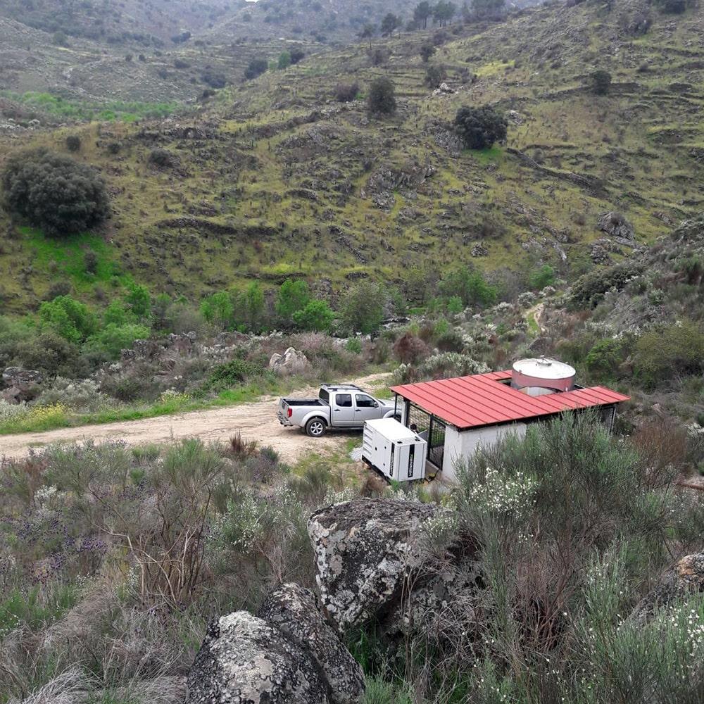 Hannaik instala gerador de 45 kVA em Figueira de Castelo Rodrigo