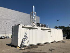 A HANNAIK desenvolveu uma Central de Produção de Energia de 3MVA.