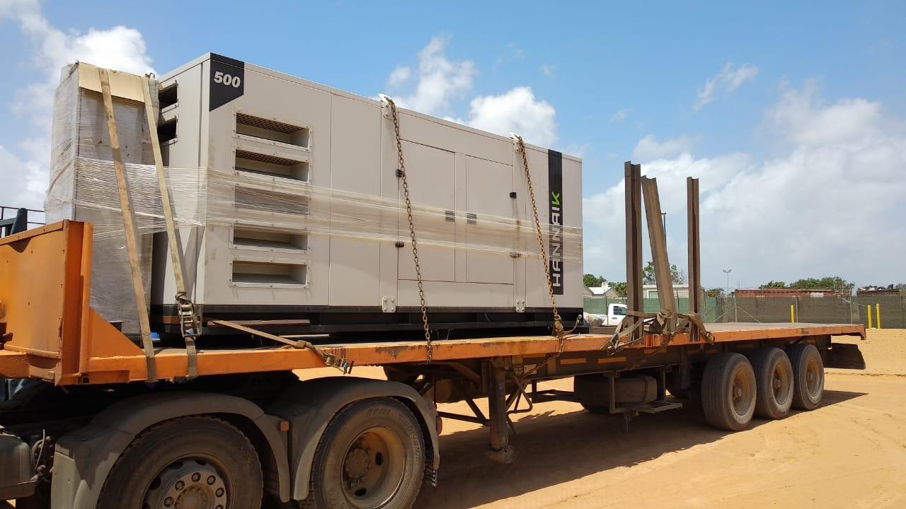 Gerador de Energia Insonorizado de 500 kVA