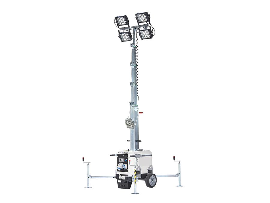 Torre de iluminação sem motor Towerloop