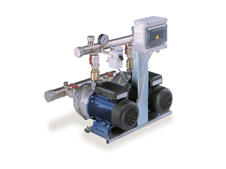 Centrais Hidropressoras sem variação de velocidade de eixo horizontal