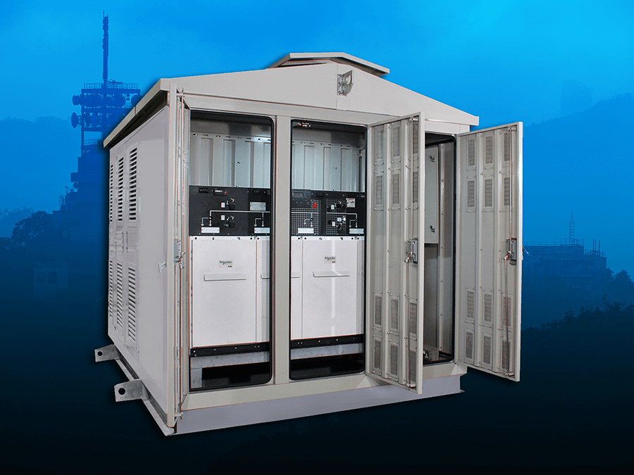 Pre-Fabricated Compact MV Substations